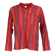 Men's Premium Kantha Embroidery Shirt