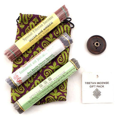 Tibetan Triple Incense Gift Pack