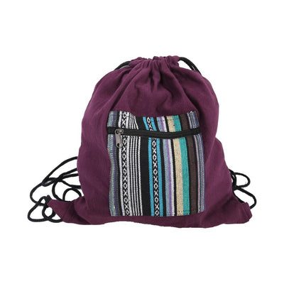 Gheri Pocket Drawstring Bag