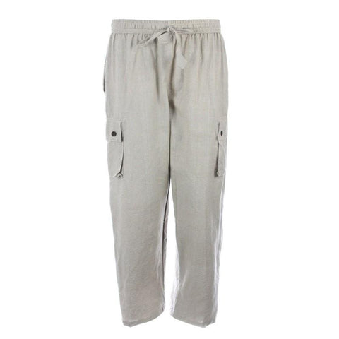 Hemp Cotton Cargo Trousers