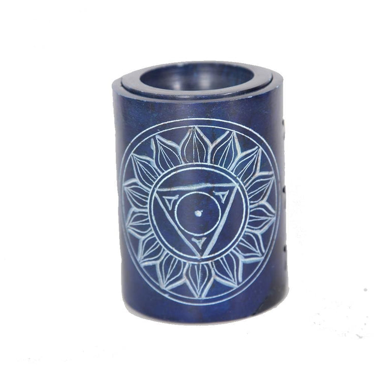 Chakra Carved Soapstone Oil Burner
