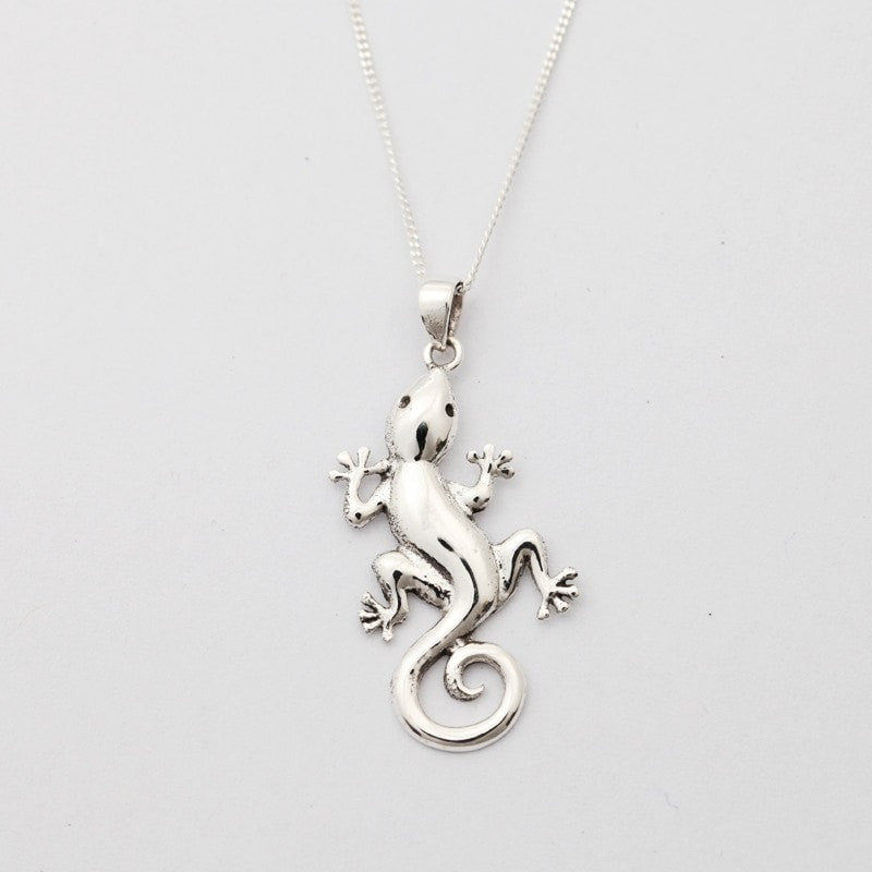 Geko Sterling Silver Necklace