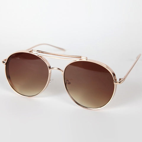 Flat Aviators Sunglasses