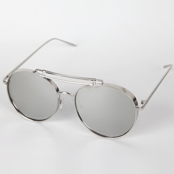 Men's Flat Aviators Sunglasses