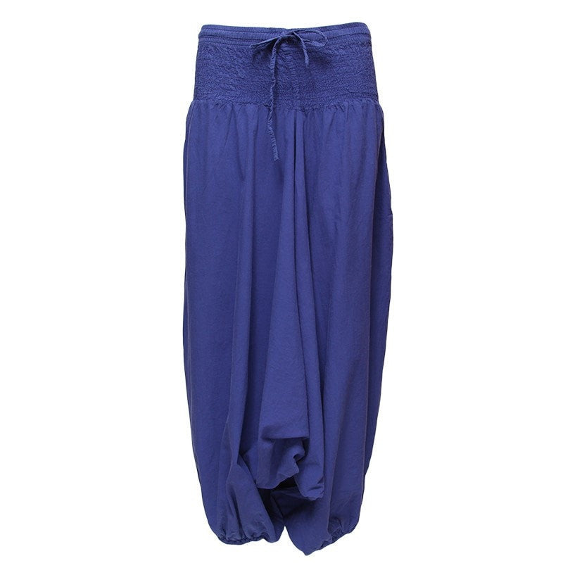 Men's Lightweight Low Harem Pants
