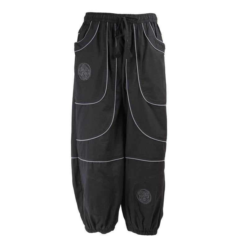High Crotch Celtic Joggers