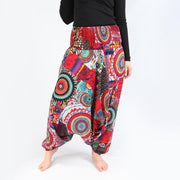 Colourful Printed Harem Pants
