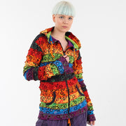 Bubble Patterned Rainbow Hoodie