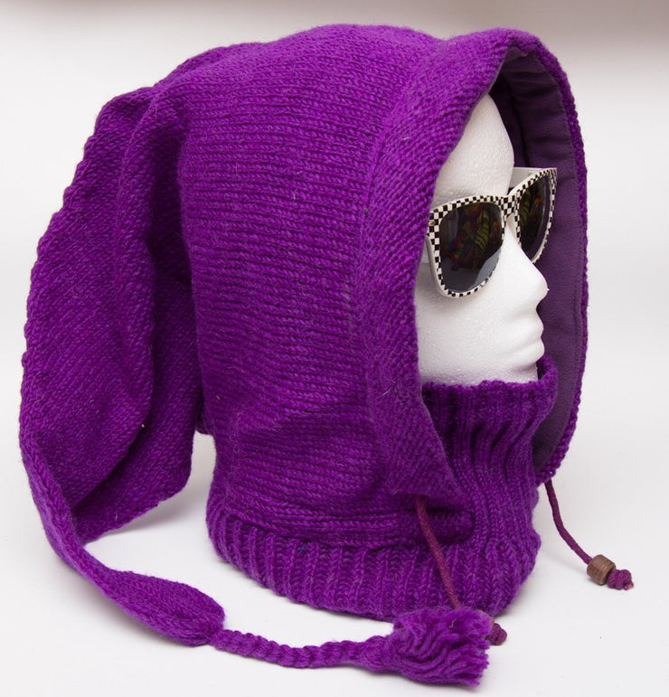 Pixie Knit Hood With Neck Warmer
