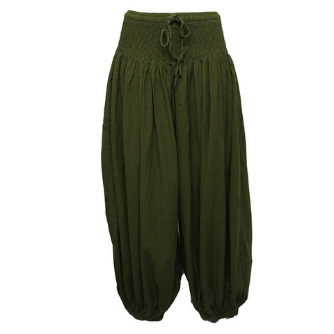 Premium Cotton Harem Trousers