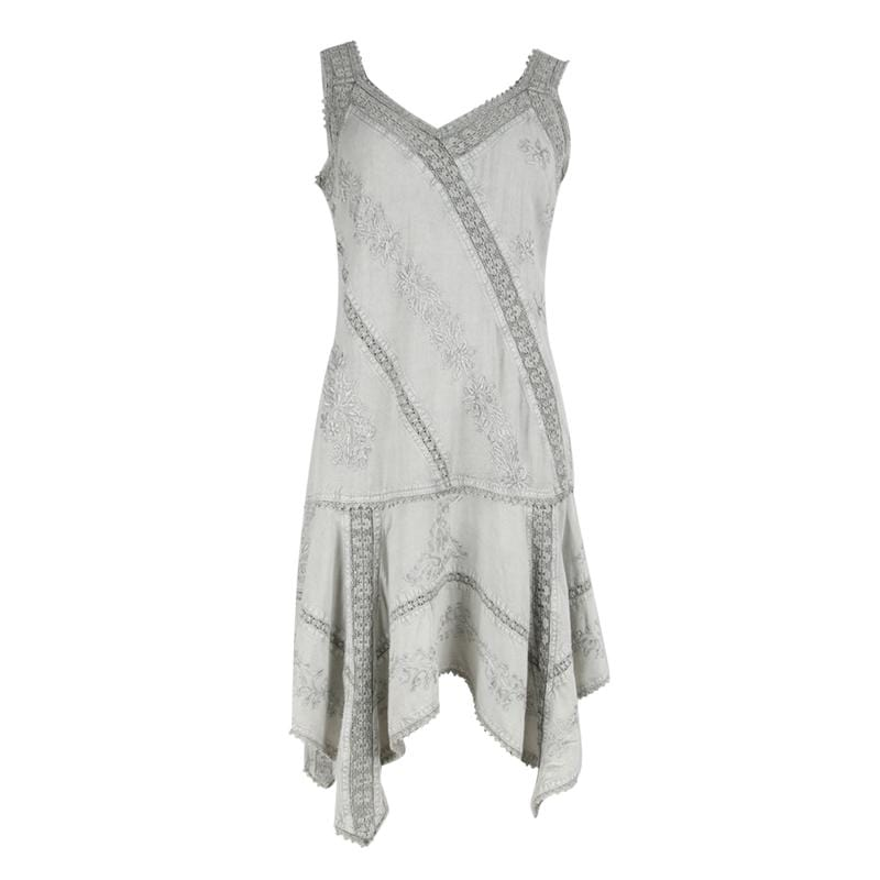 Sleeveless Gypsy Hanky Dress