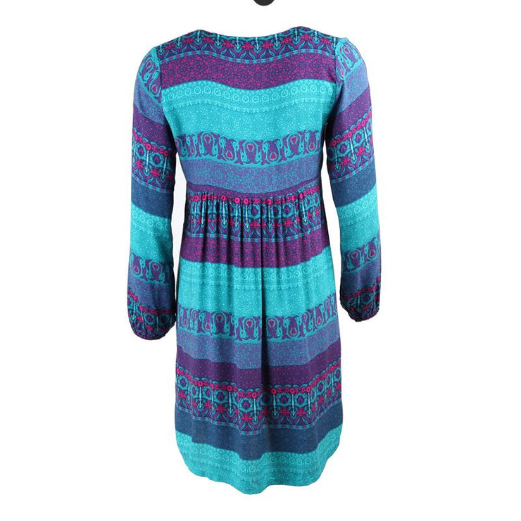 Long Sleeved Smock Dress