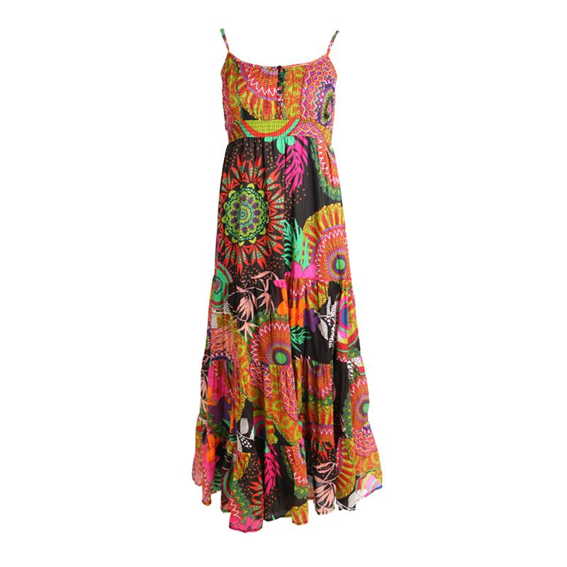 Tiered Maxi Beach Dress