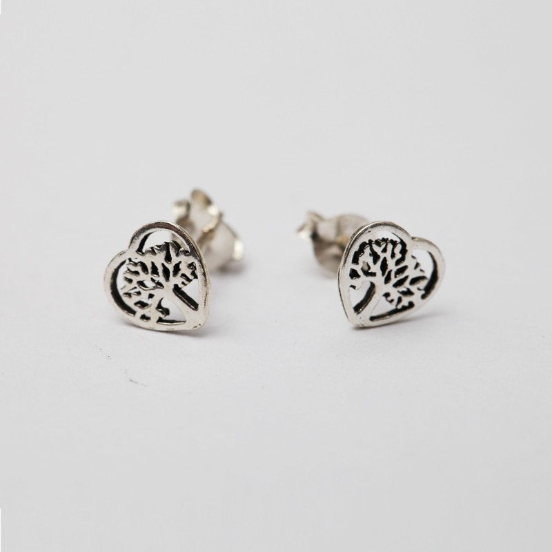 Tree of Life Sterling Silver Studs