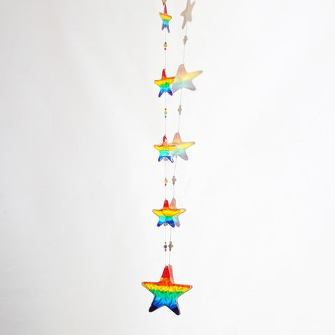 Rainbow Star Suncatcher