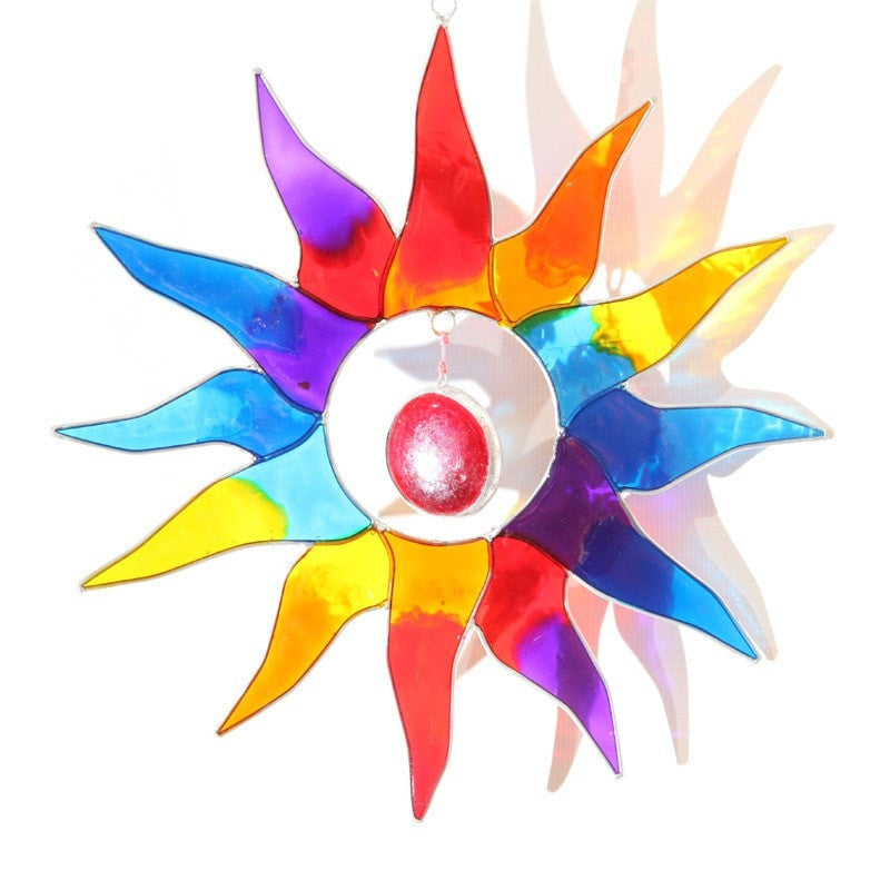 Large Rainbow Sun Suncatcher