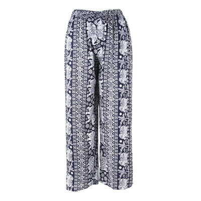 Wide Leg Elephant Beach Trousers