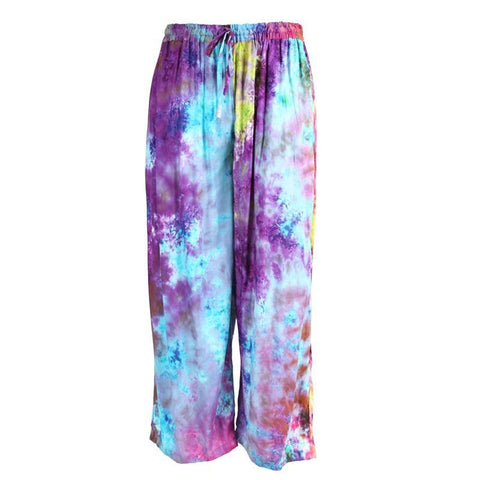 Tie Dye Loose Fit Trousers