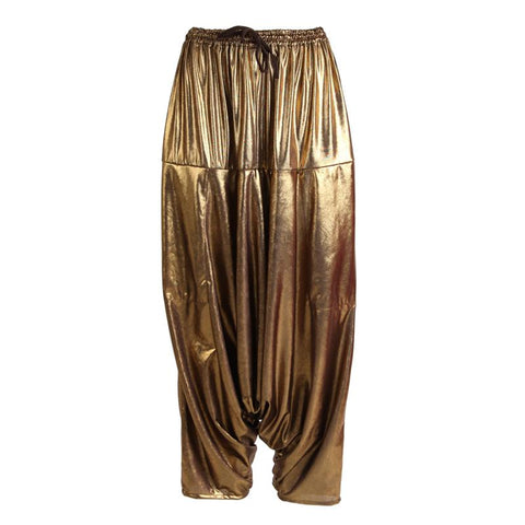 Gold Aladdin Pants