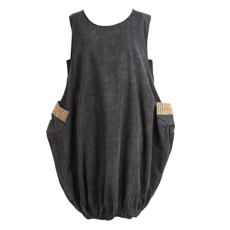 Sleeveless Cocoon Dress