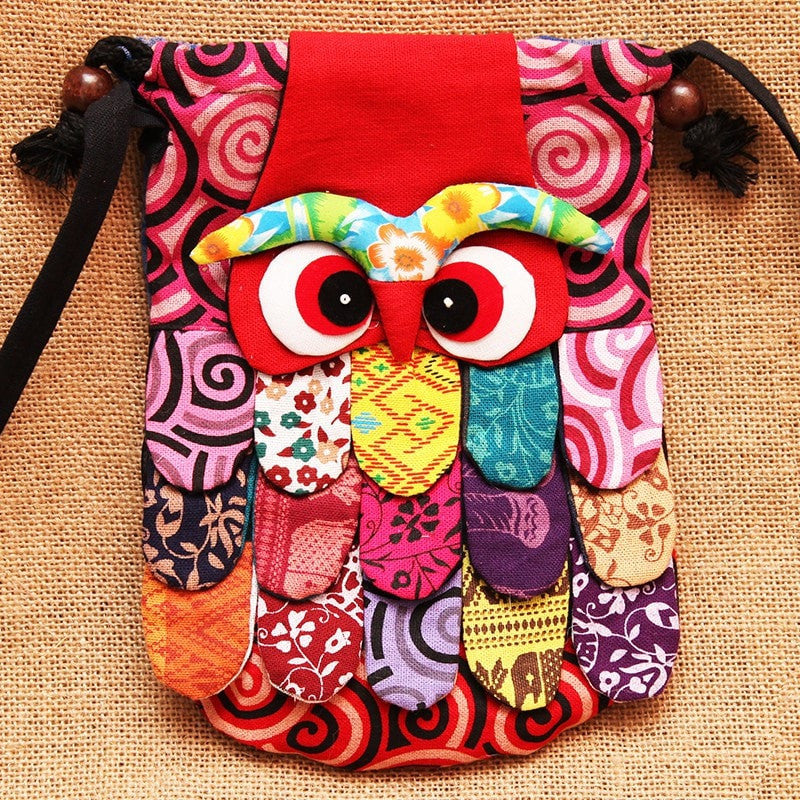 Small Cross Body Owl Bag