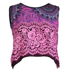 Thai Open Back Tank Top