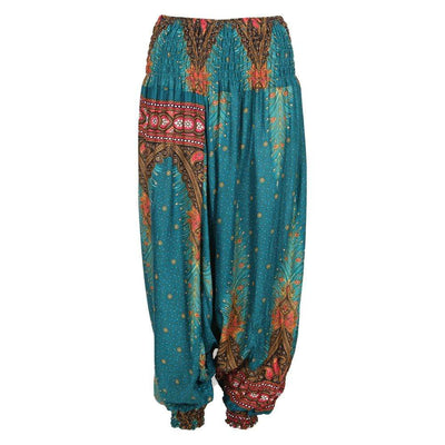 Thai Patterned Harem Pants