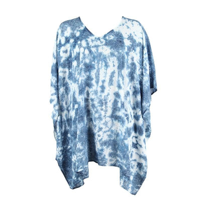 Shibori Indigo Beach Cover-Up