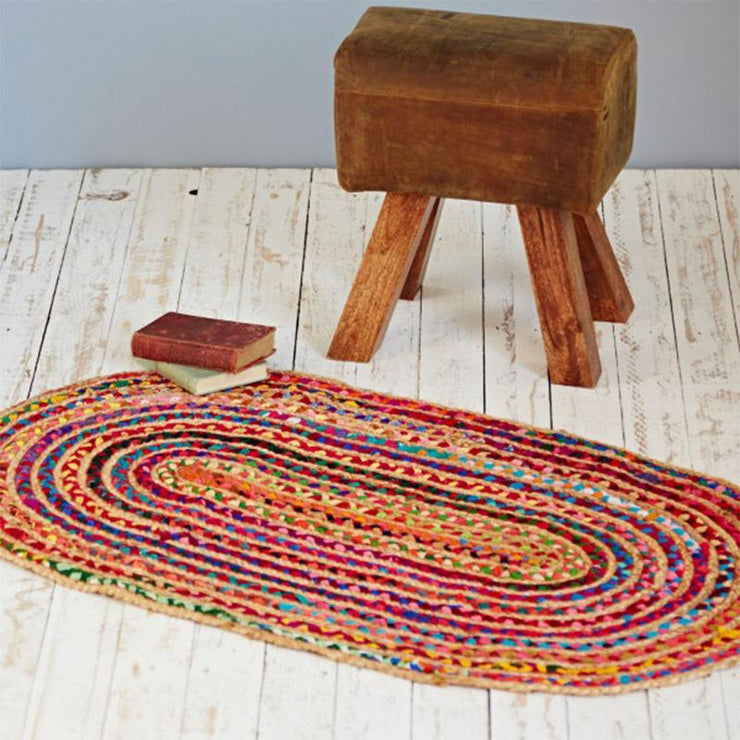Recycled Jute And Cotton Rug