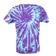 Men's Organic Cotton Purple Tie Dye T-Shirt