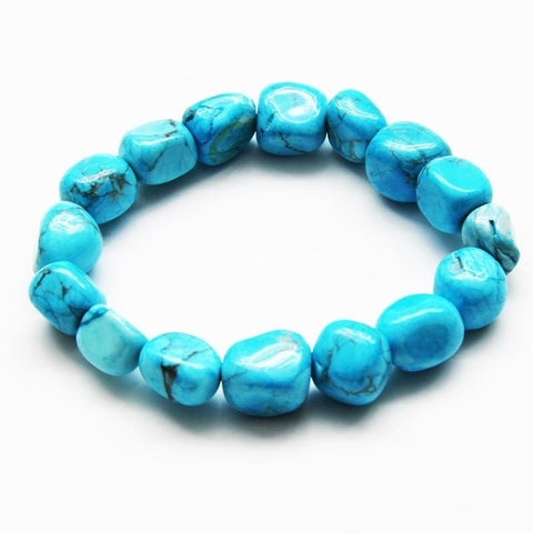 Turquoise Howlite Bracelet - Protection