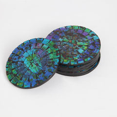 Round Mosaic Coaster Set Of Six