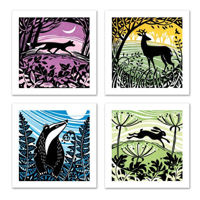 Manda Beeching Greetings Card Set