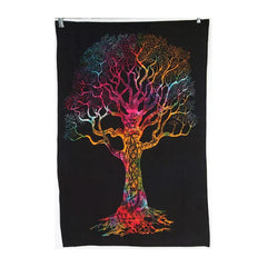 Tie Dye Rainbow Wall Hanging