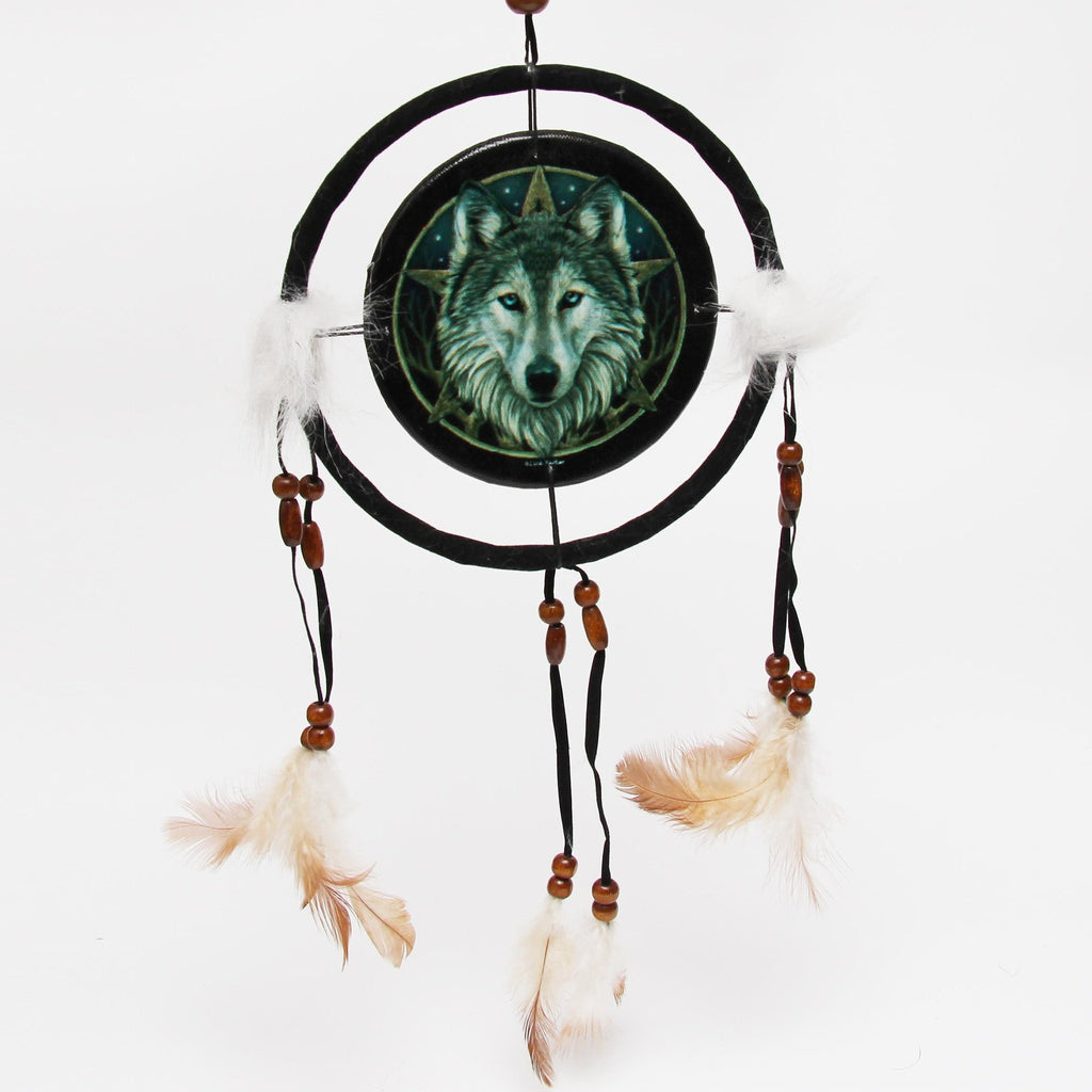 Wolf Dreamcatcher - Small 16cm