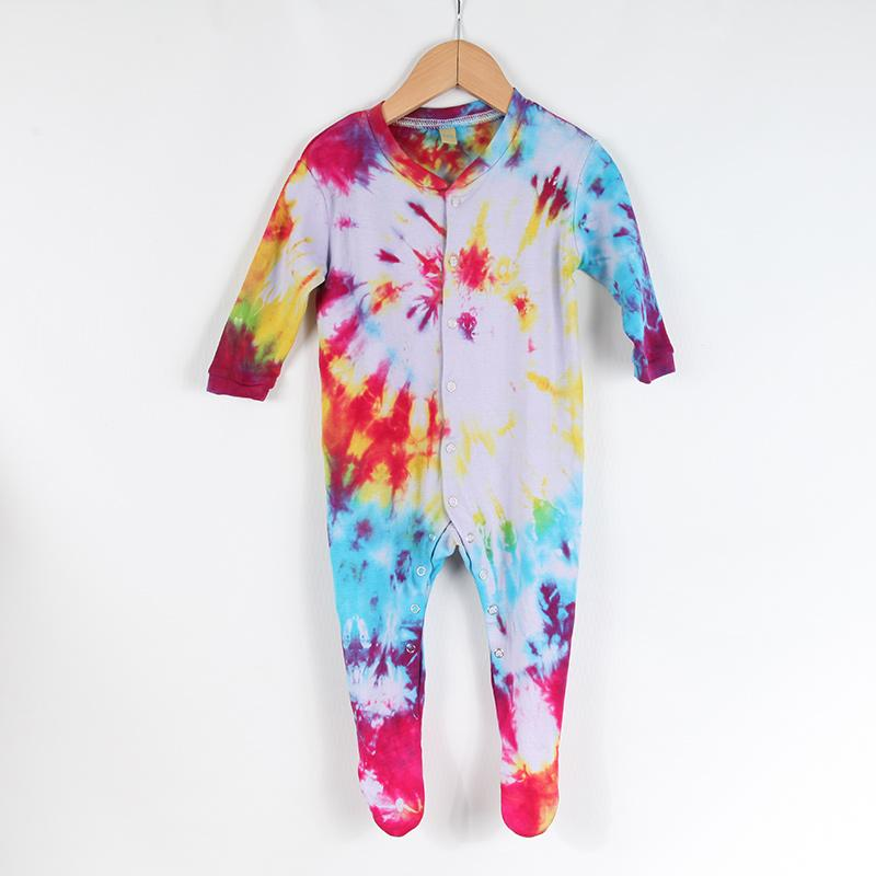 2b9b61bf62b6c Tie Dye Baby Onesie | The Hippy Clothing Co.