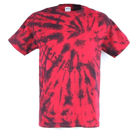 Men's Red Tie Dye T-Shirt