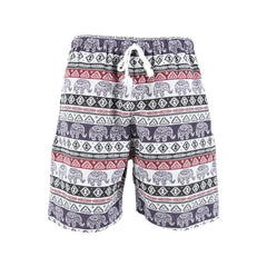 Men's Cotton Elephant Shorts