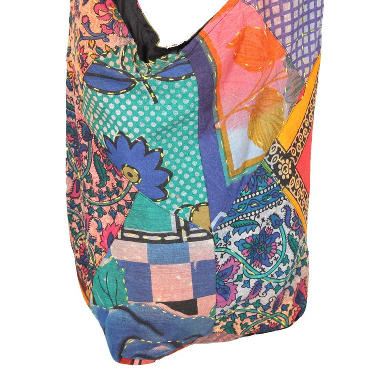 Kantha Stitch Shoulder Bag