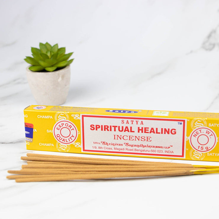 Spiritual Healing - Satya Incense Sticks