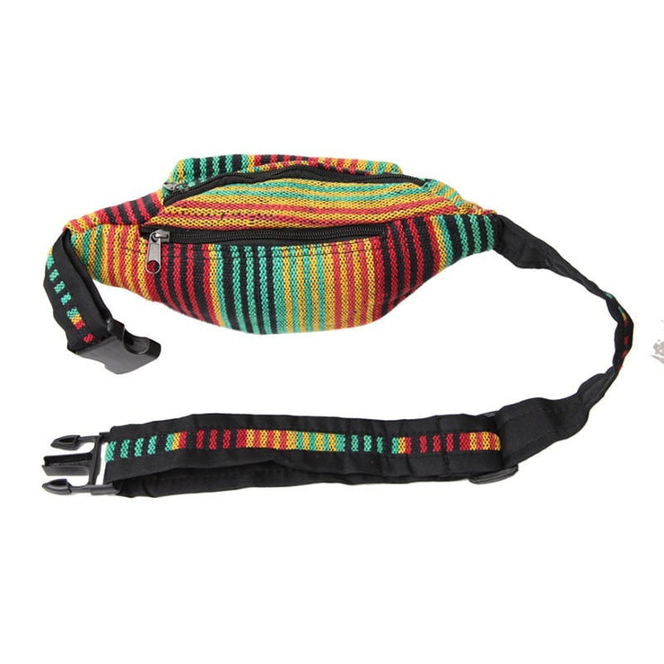 Mens Rasta Waist Bag