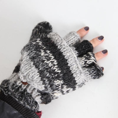 Mitten Fingerless Gloves