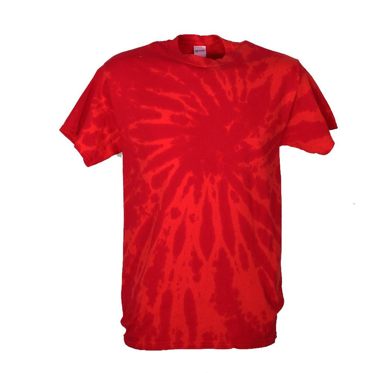 Orange & Red Tie Dye T-Shirt