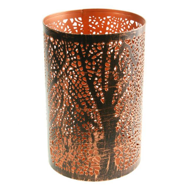 Fair Trade Tree Tea Light Holder