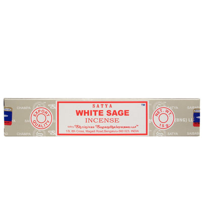 White Sage - Satya Incense Sticks 15g