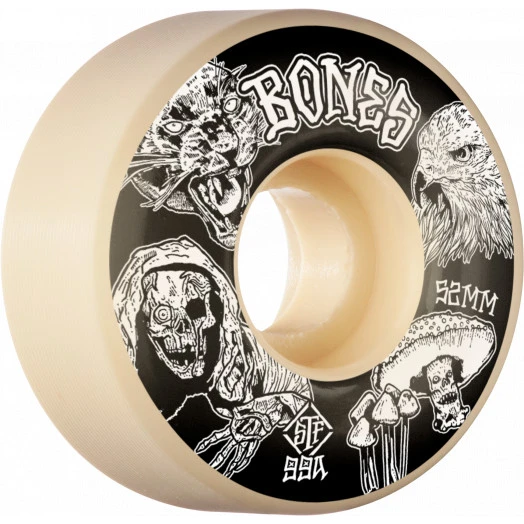 Bones STF Easy Streets V1 Standard Night Watch Wheels