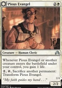 Pious Evangel [Shadows over Innistrad] | HFX Games
