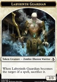 Labyrinth Guardian Token [Amonkhet Tokens] | HFX Games