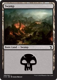 Swamp (299) [Commander 2018] | HFX Games