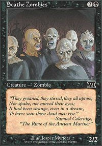 Scathe Zombies [Classic Sixth Edition] | HFX Games